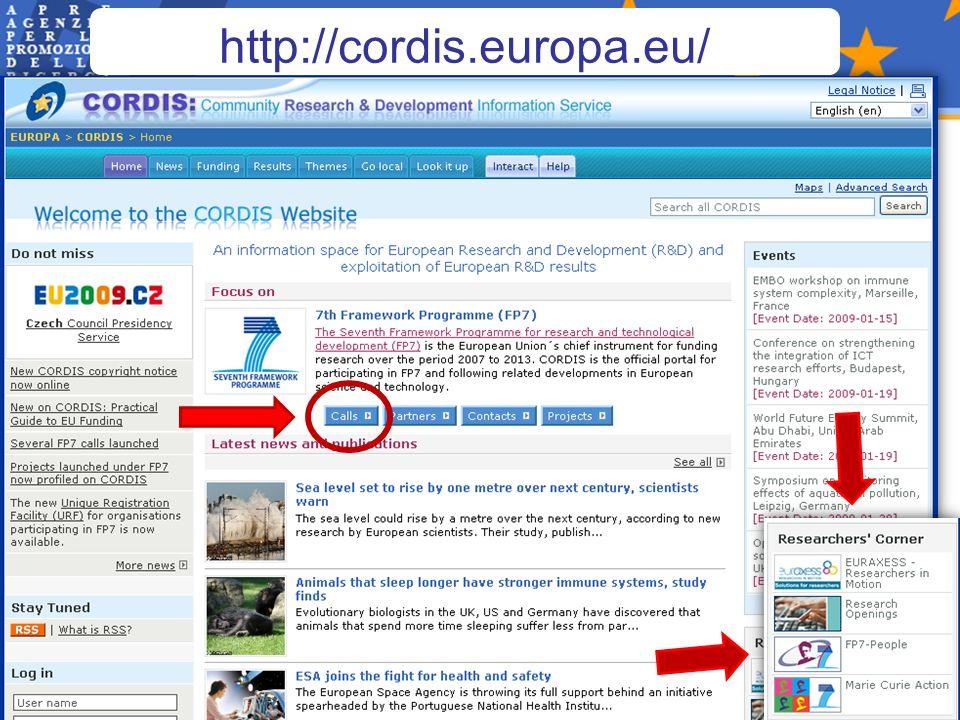 http://cordis.europa.eu/