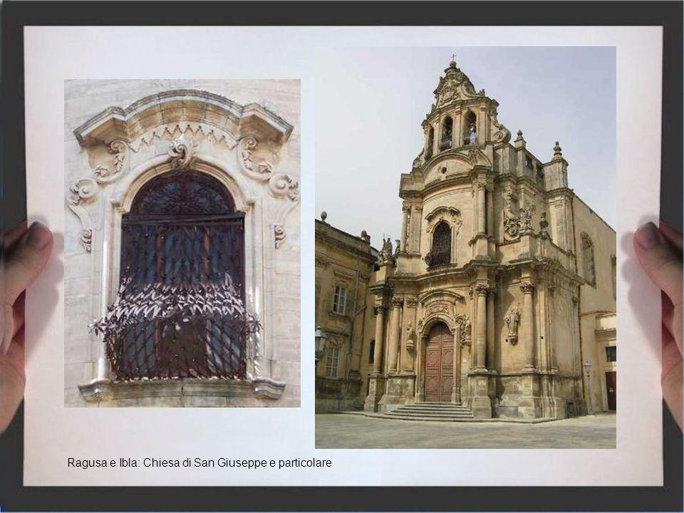 Palazzolo Acreide Palazzo Pizzo Particolare Chiesa dellAnnunziata