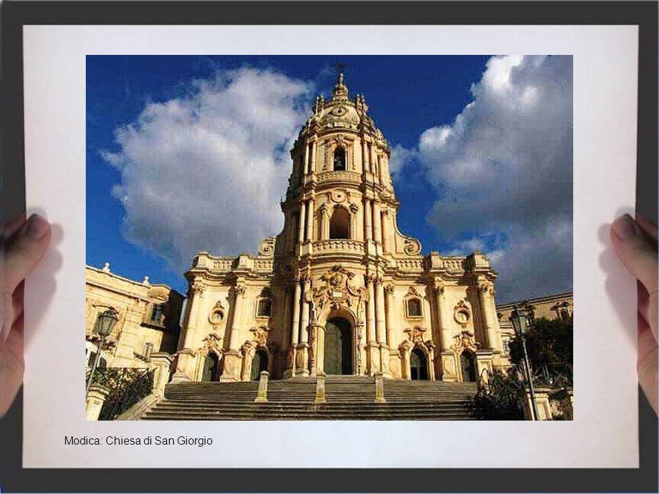 Noto: Chiesa di Santa Maria al Monte