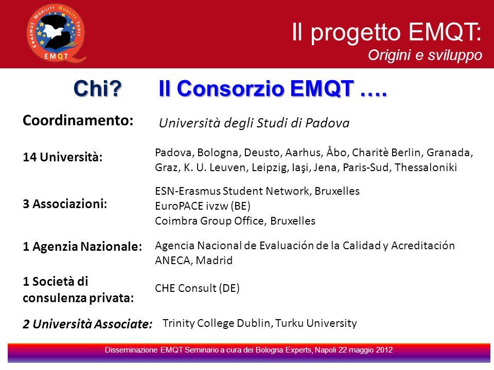 Coordinamento: Università degli Studi di Padova 14 Università: Padova, Bologna, Deusto, Aarhus, Åbo, Charitè Berlin, Granada, Graz, K.