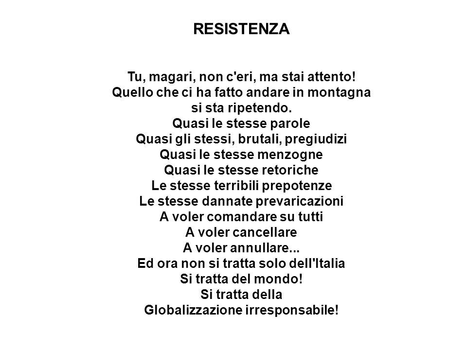 ...Con voi il mondo intero è testimone che l Italia del littorio ha fatto di tutto per evitare la tormenta che sconvolge l Europa, ma tutto fu vano.