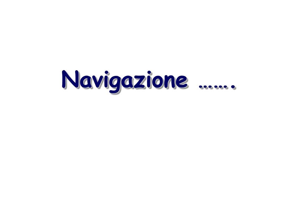 Navigazione …….