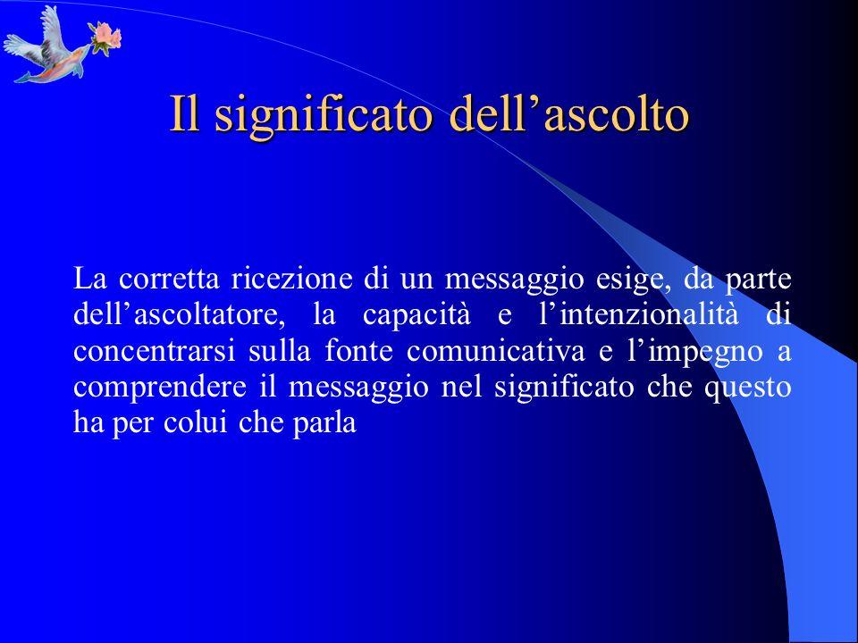 Il significato dellascolto 2.