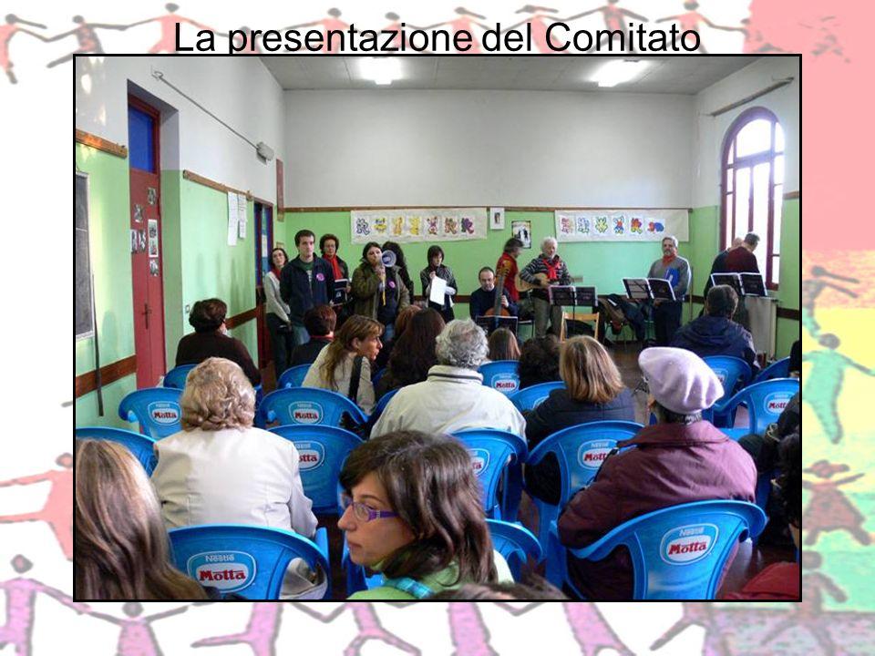 La presentazione del Comitato