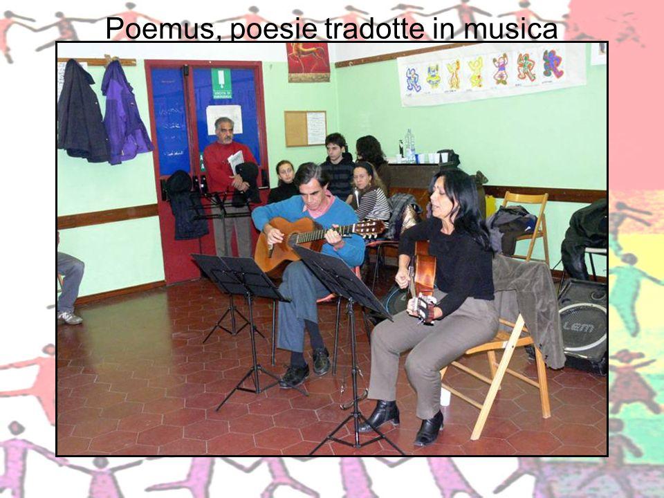 Poemus, poesie tradotte in musica