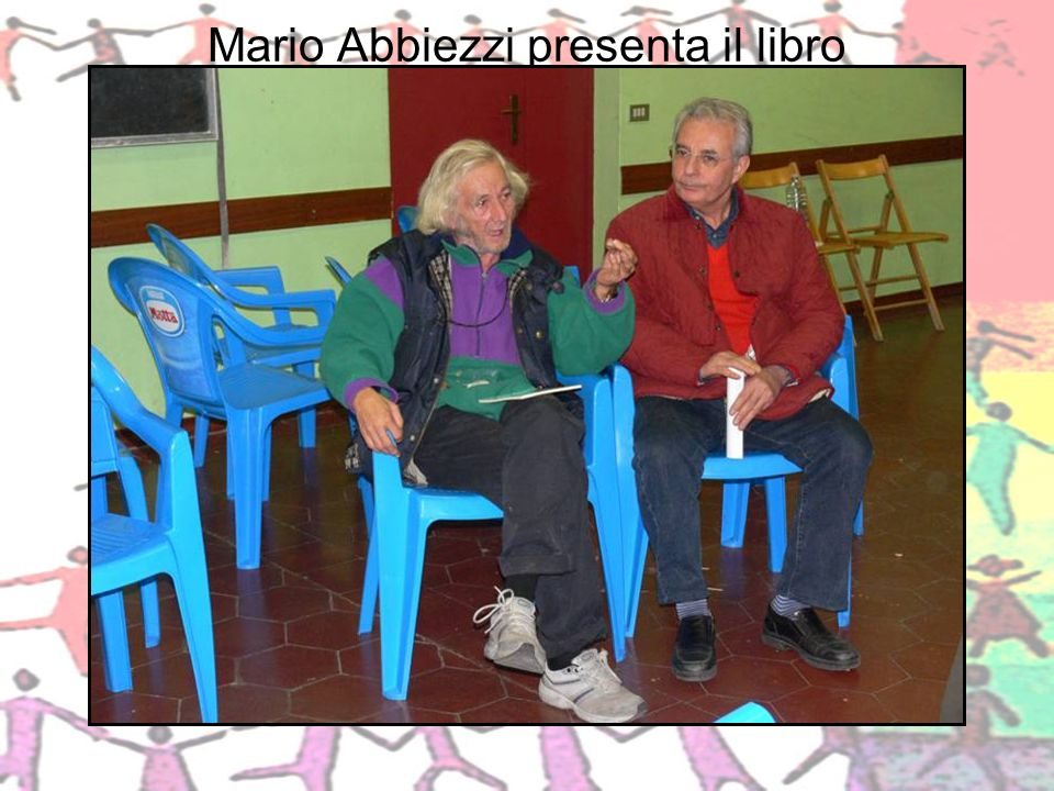 Mario Abbiezzi presenta il libro