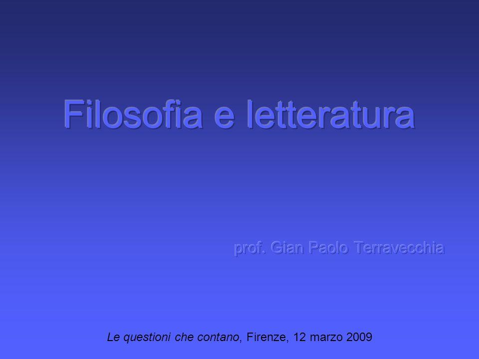 Le questioni che contano, Firenze, 12 marzo 2009