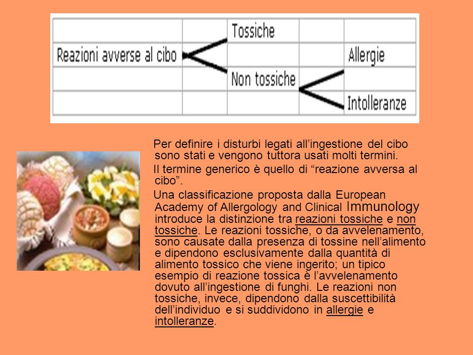Per definire i disturbi legati allingestione del cibo sono stati e vengono tuttora usati molti termini.