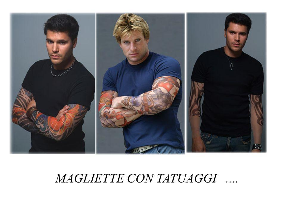 MAGLIETTE CON TATUAGGI....