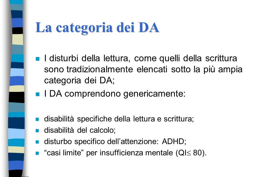 I disturbi della lettura Barbara Arfé- DPSS-Università degli Studi di Padova