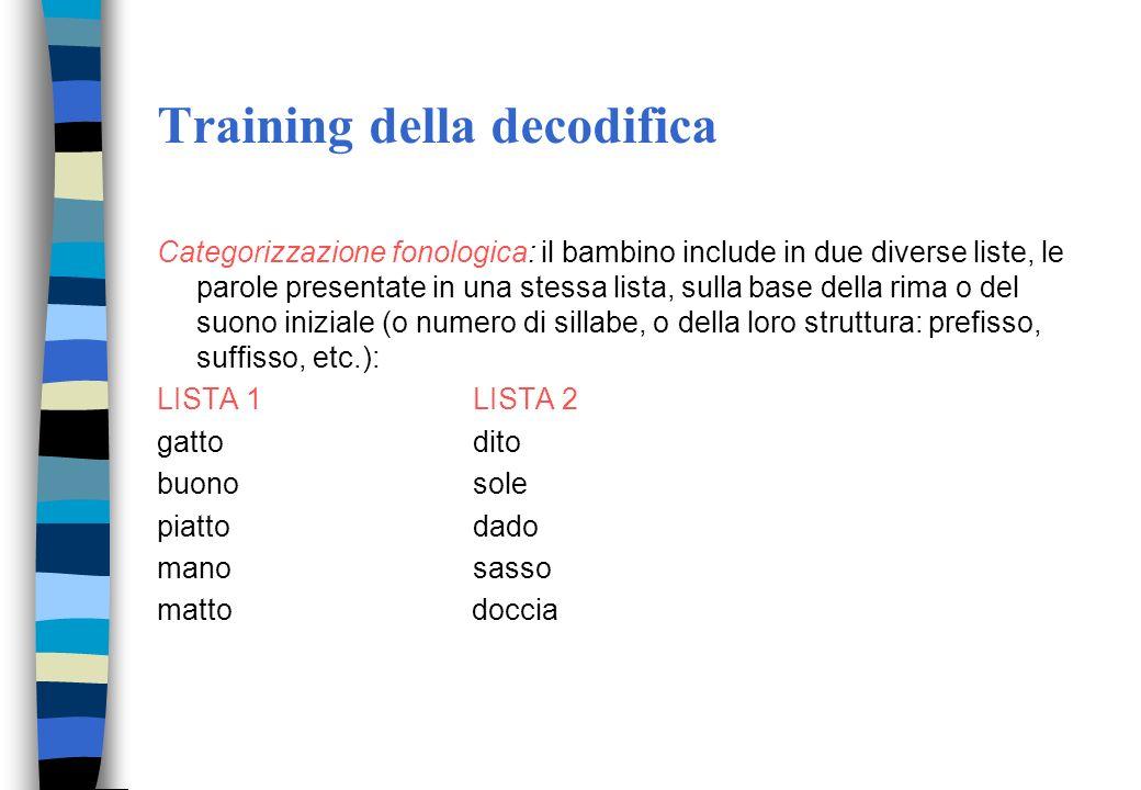 Trattamento dislessie -Presentazione tachiscoscopica della parola (le parole vengono presentate al computer con un tempo inferiore alla latenza dei mo