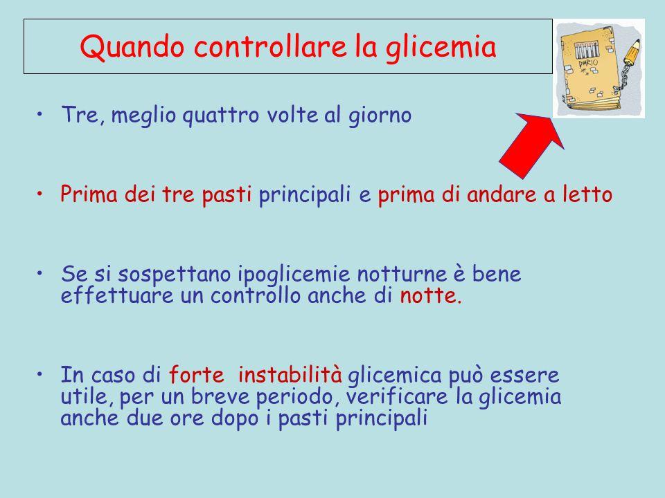 CGM Legge il glucosio sottocute (dove si modifica in ritardo di 15 rispetto al sangue), permettendo di capire la tendenza al: Rapido innalzamento (+ 2 mg/dl/m) Lento innalzamento (+ 1 mg/dl/m) Lenta riduzione (- 1 mg/dl/m) Rapida riduzione (- 2 mg/dl/m) 90 mg/dl 140 1 2