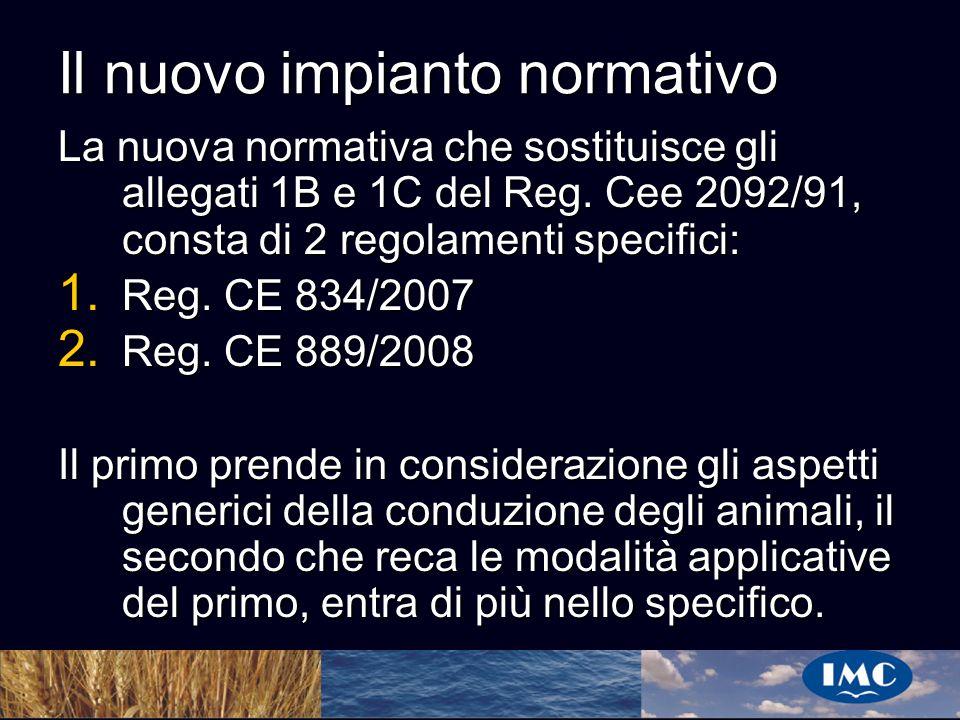 Sergio Benedetti Soia convenzionale In questo allegato vengono riportati i prodotti convenzionali che possono essere utilizzati nellalimentazione degli animali.