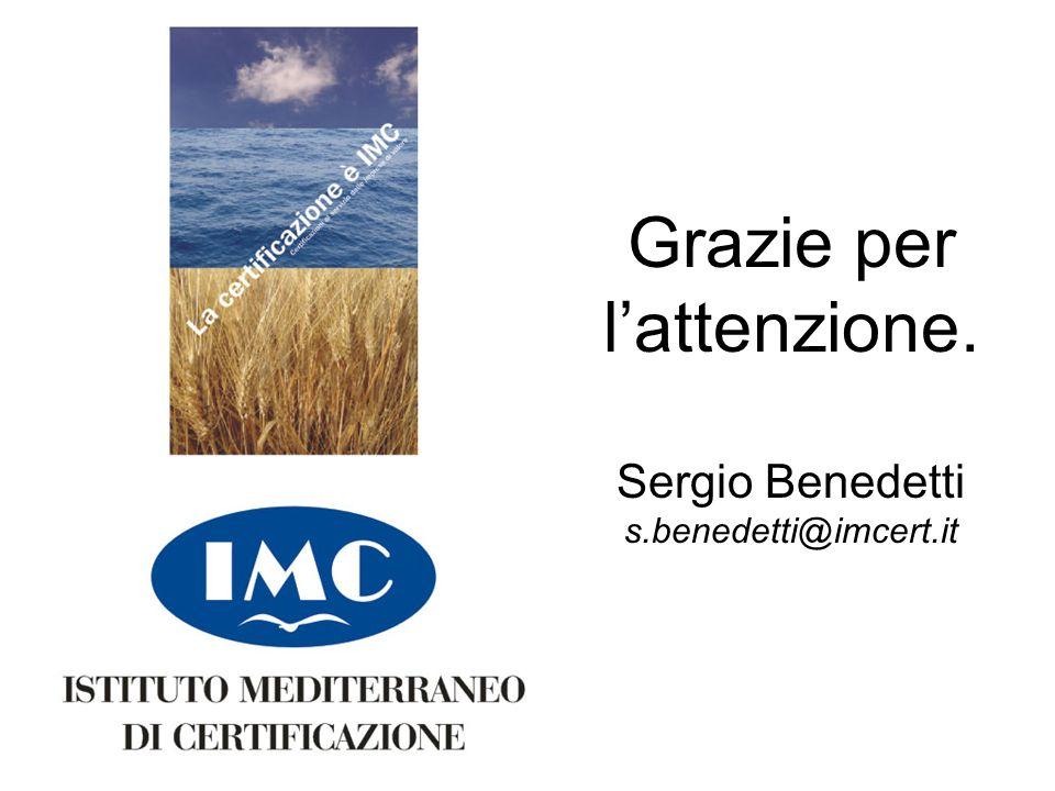 Sergio Benedetti Limmagine si trova su \\Server2\imc\IT\grafica_presentazioni\thanks.jp g ed è già correttamente dimensionata per coprire la schermata