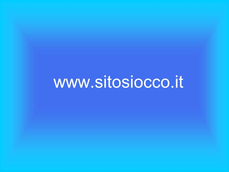 www.sitosiocco.it