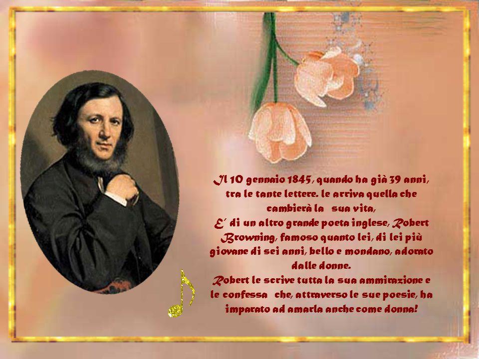 Il 10 gennaio 1845, quando ha già 39 anni, tra le tante lettere.