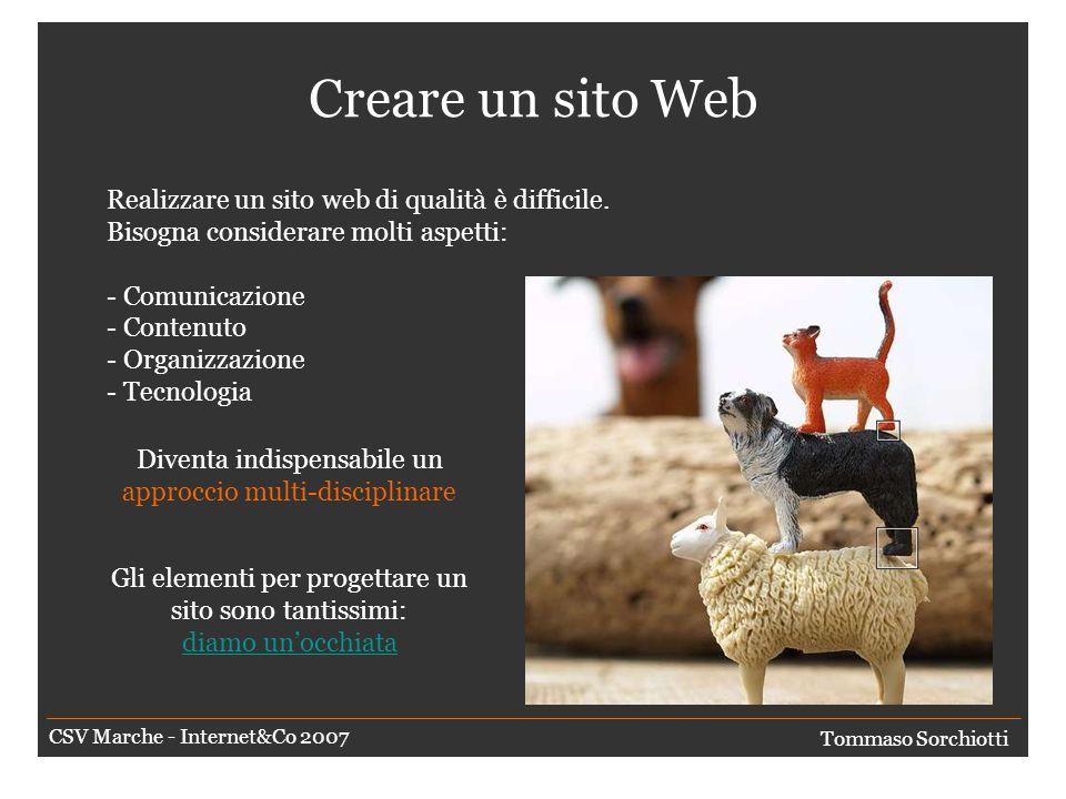 Sito, portale o pagina Web o cosa. E possibile fare una classificazione.
