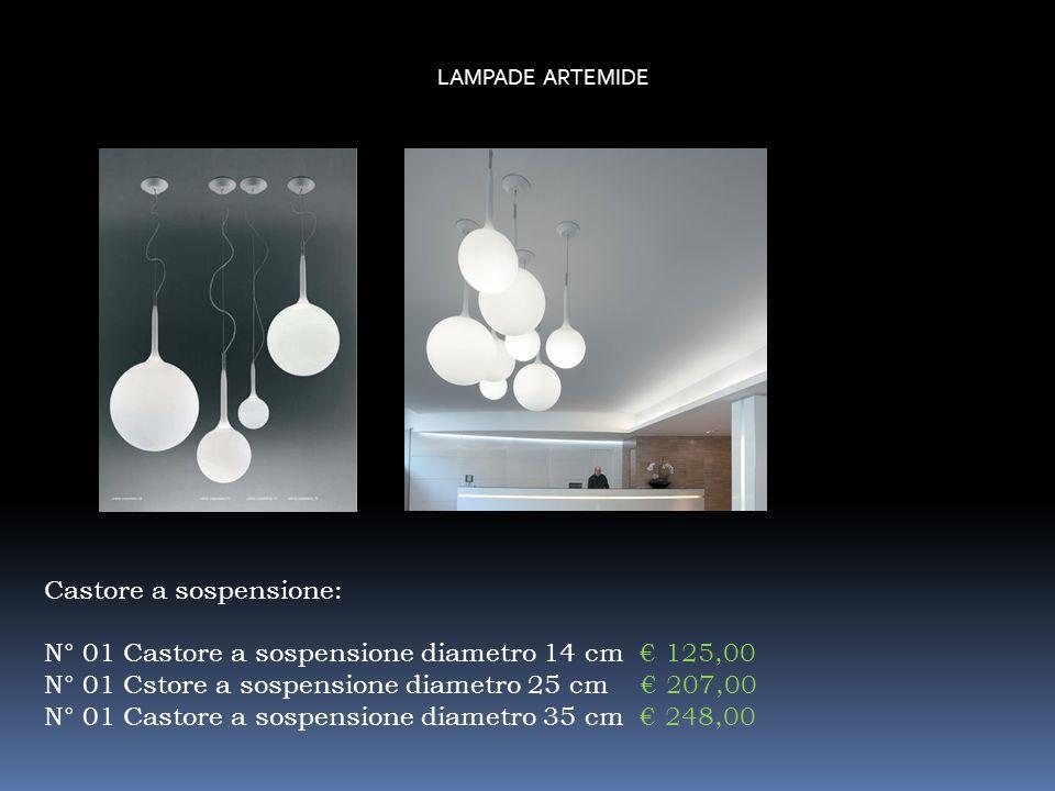 LAMPADE ARTEMIDE N° Miconos da terra con regolatore dintesità luminosa. 594,00