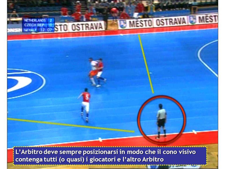 .. il giocatore perde subito palla, lArbitro decide di concedere il fallo precedente..