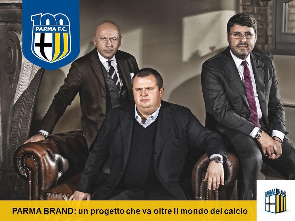 UN CLUB RICCO DI STORIA Il 27 luglio 1913 nasce il Verdi Football Club, che poco dopo, esattamente il 16 Dicembre 1913 cambierà il suo nome in Parma Football Club, adottando come divisa una maglia bianca con croce nera sul petto.