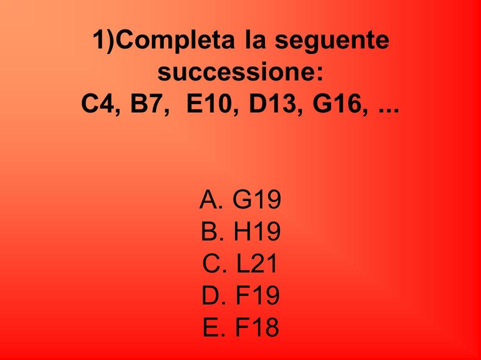Risposta corretta E. (31-4)/3=27/3=9