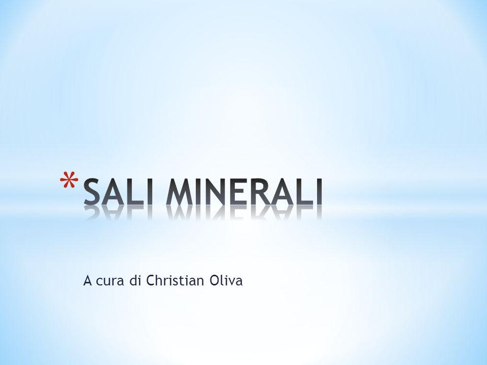 Il cloro si trova combinato soprattutto con sodio.