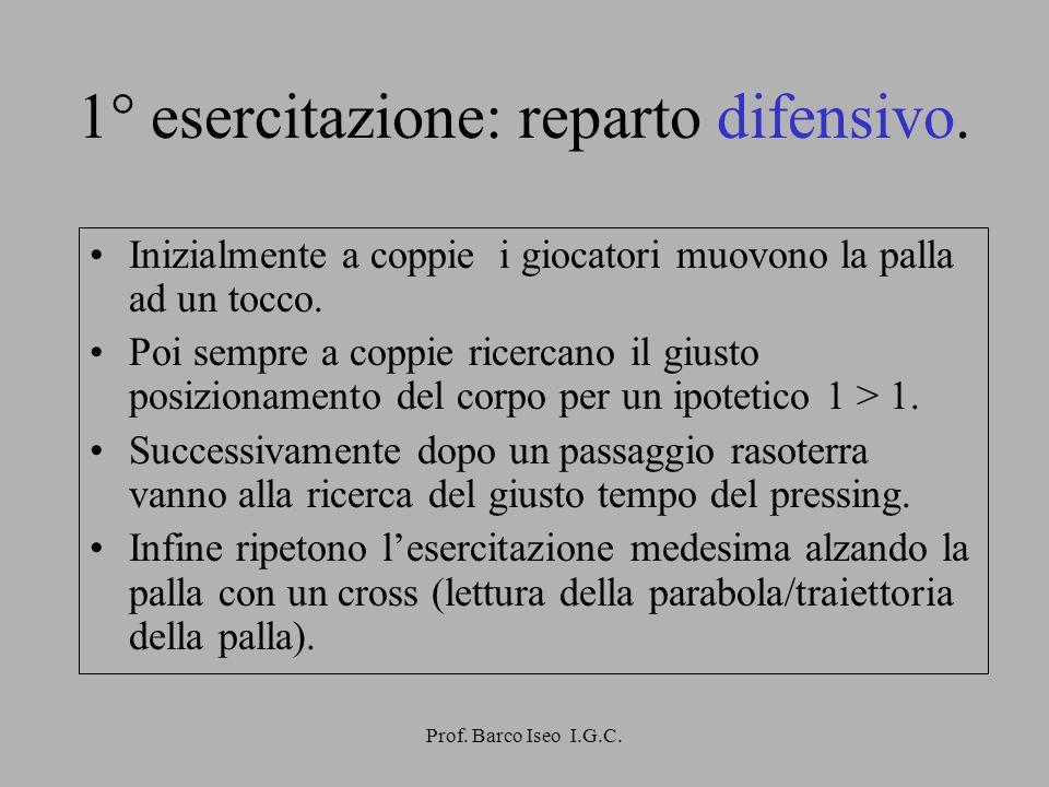 Prof.Barco Iseo I.G.C.