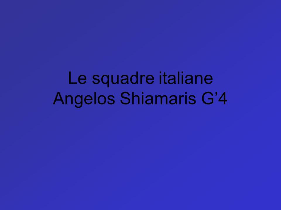 Le squadre italiane Angelos Shiamaris G4
