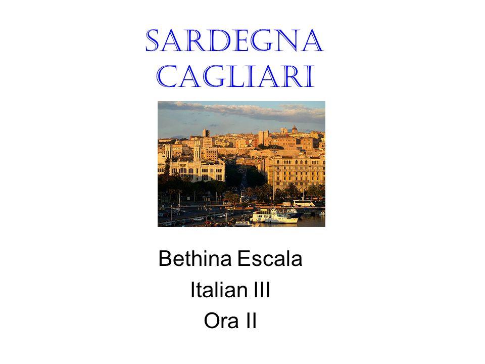 Sardegna Cagliari Bethina Escala Italian III Ora II
