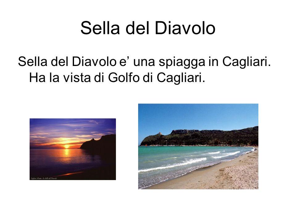 Sella del Diavolo Sella del Diavolo e una spiagga in Cagliari. Ha la vista di Golfo di Cagliari.