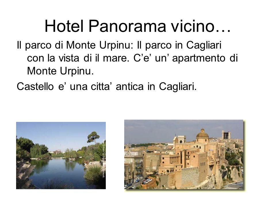 Hotel Panorama vicino… Il parco di Monte Urpinu: Il parco in Cagliari con la vista di il mare.