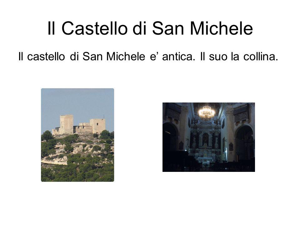 Il Castello di San Michele Il castello di San Michele e antica. Il suo la collina.