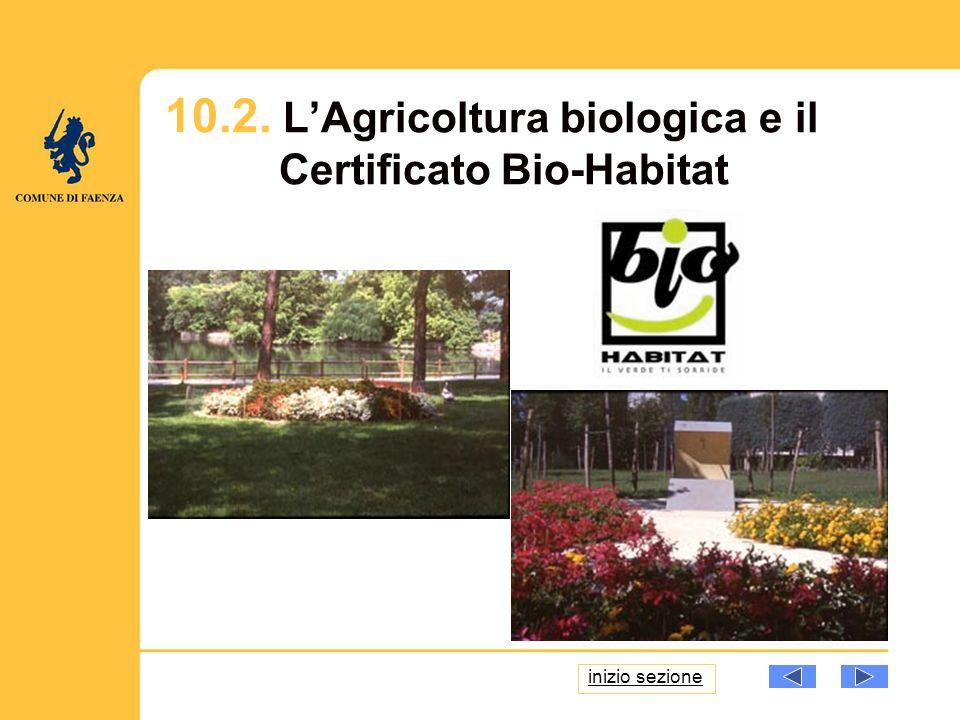 10.2. LAgricoltura biologica e il Certificato Bio-Habitat