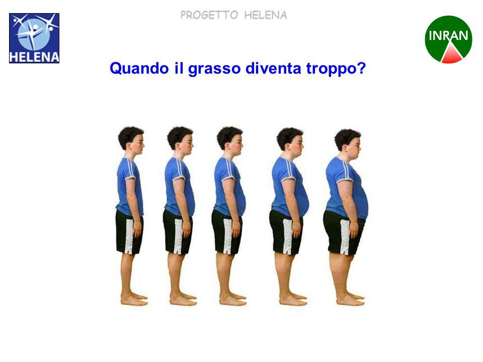 PROGETTO HELENA Quando il grasso diventa troppo?