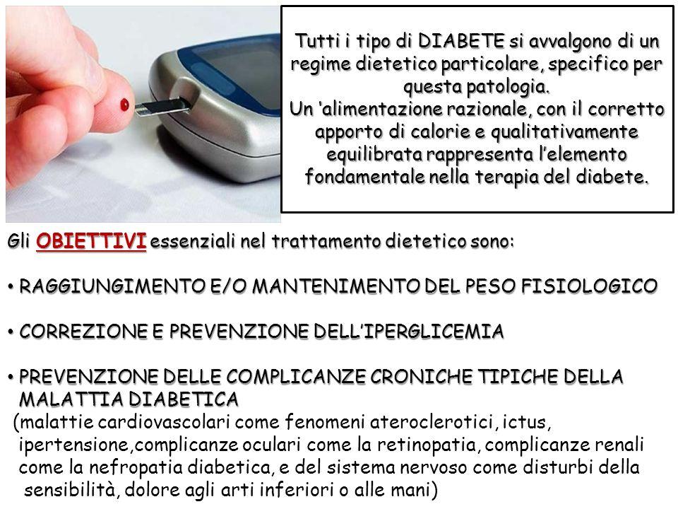 Tutti i tipo di DIABETE si avvalgono di un regime dietetico particolare, specifico per questa patologia. Un alimentazione razionale, con il corretto a