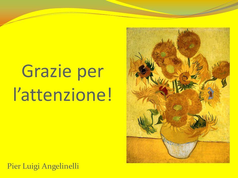 Grazie per lattenzione! Pier Luigi Angelinelli