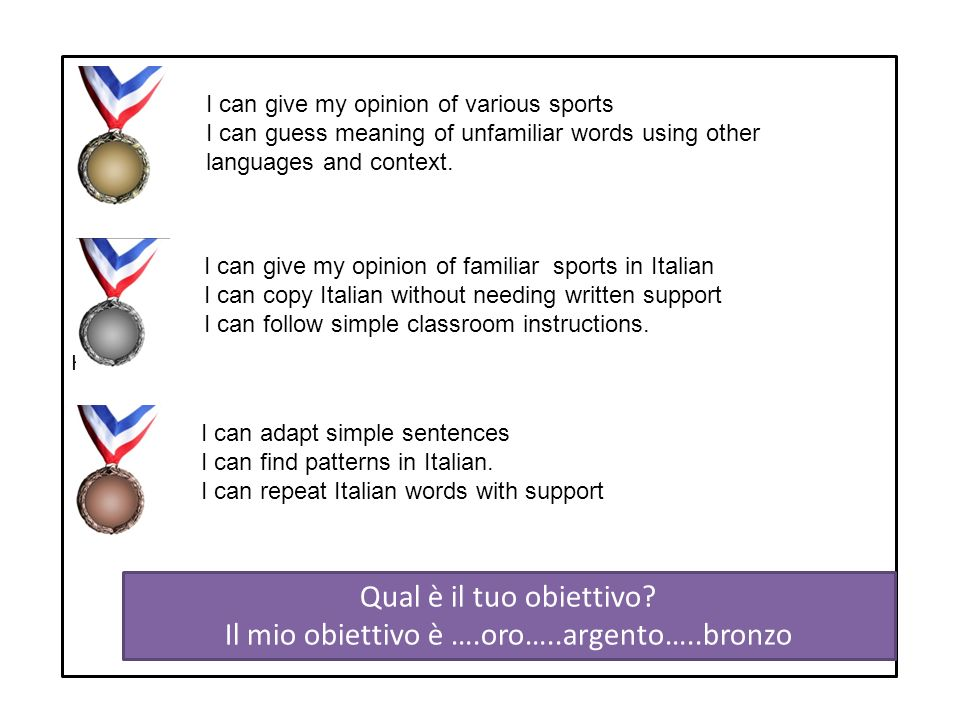 Can you try to find the Italian for the following phrases in the passage.