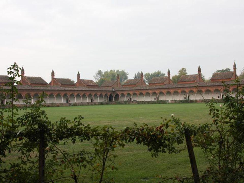 Le celle o «villette a schiera» dei monaci