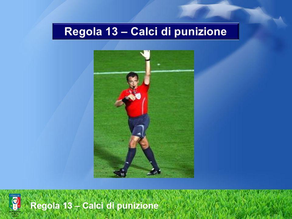 Procedura LARBITRO dopo che i calciatori hanno preso posizione in conformità con questa Regola, larbitro emette il fischio per dare il segnale per lesecuzione del calcio di rigore Regola 14 – Il calcio di rigore