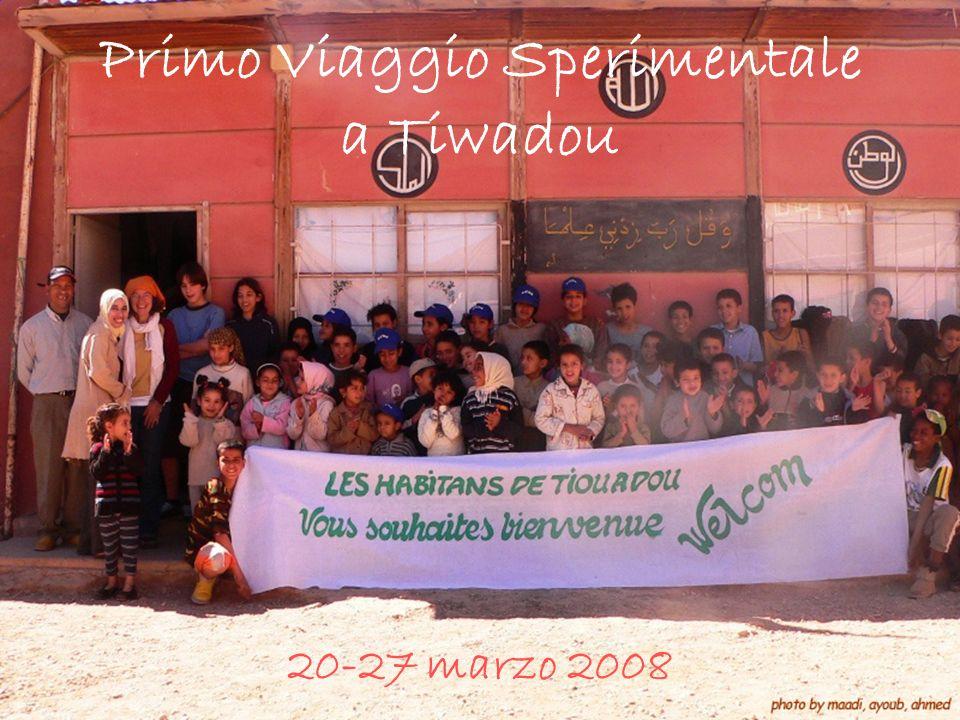 Primo Viaggio Sperimentale a Tiwadou 20-27 marzo 2008