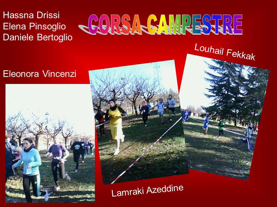 Chiara Gatti, Giulia Corrado, Hassna Drissi, Gaia Viola, Valentina Arru, Anita Amelia Miceli, Martina Cavalluzzo, Selma Drissi, Simona Canu.