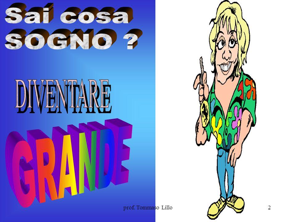 1prof. Tommaso Lillo