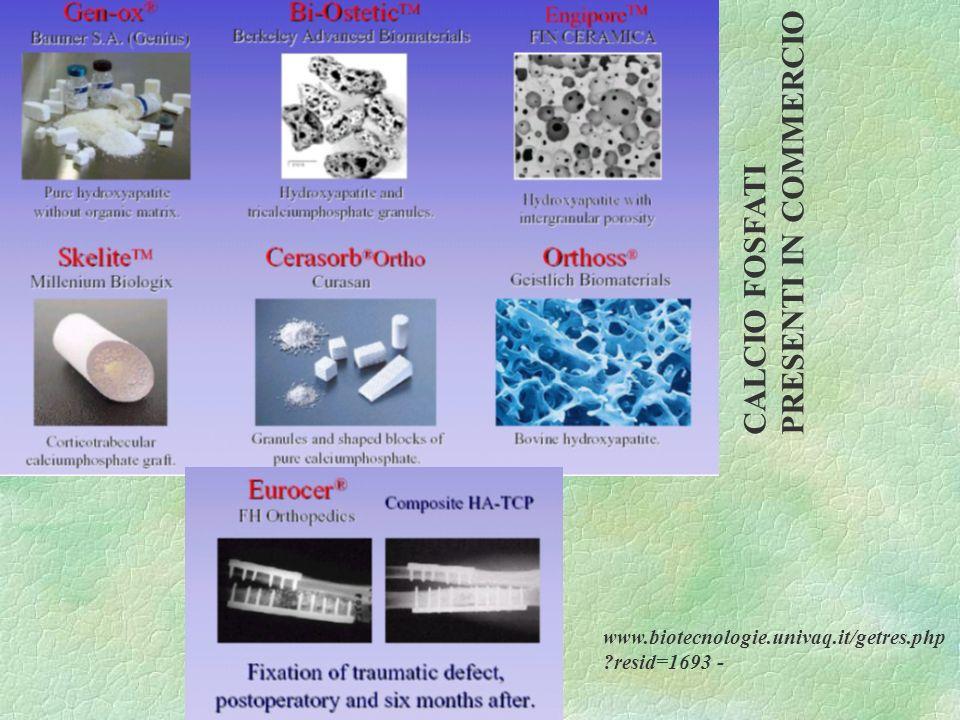 CALCIO FOSFATI PRESENTI IN COMMERCIO www.biotecnologie.univaq.it/getres.php ?resid=1693 -