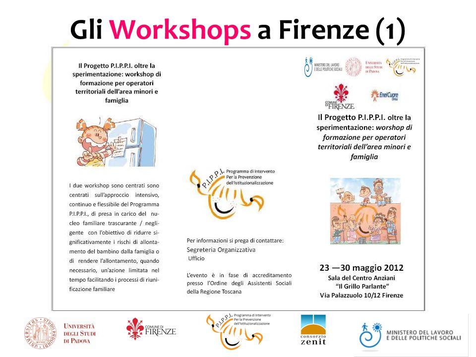 Gli Workshops a Firenze (1)