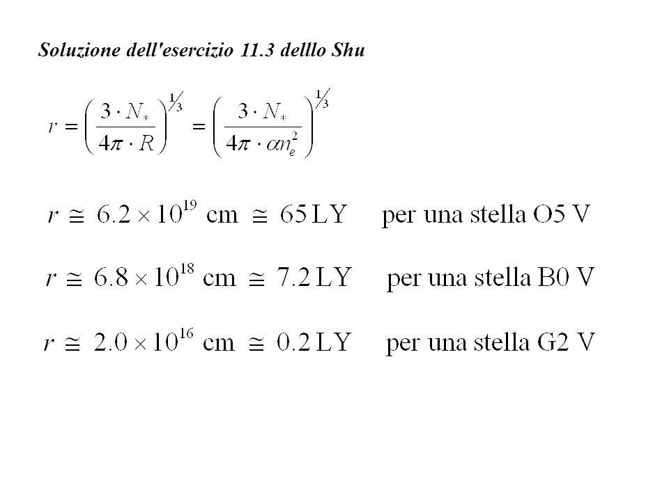 Soluzione dell'esercizio 11.3 delllo Shu