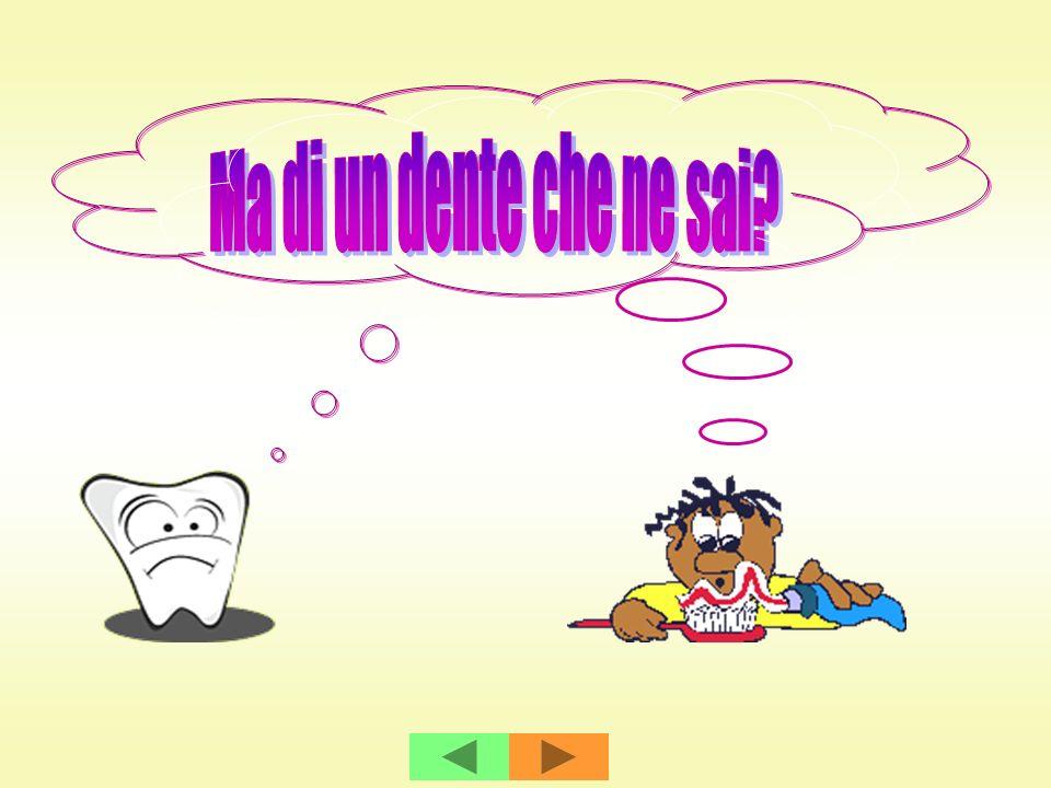 Intervista ad un DENTE Un giorno un gruppo di bambini decide di intervistare un dente.