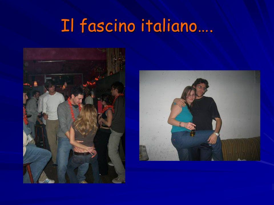 Il fascino italiano….