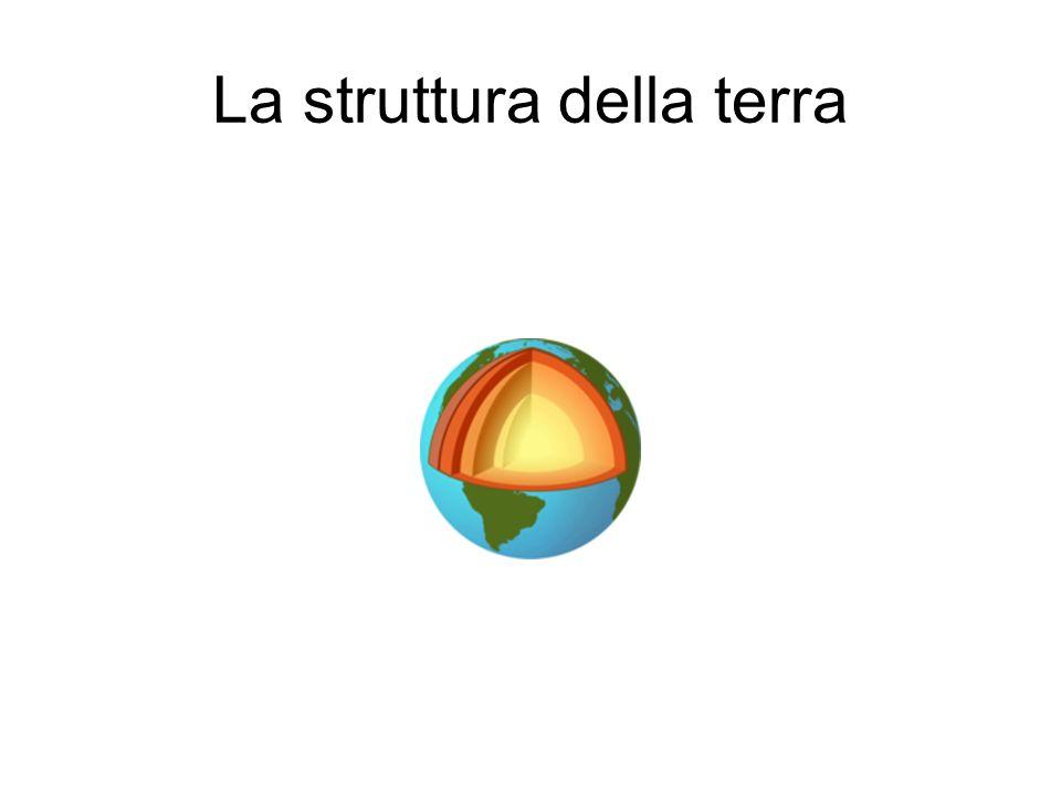 Nucleo terrestre Caratterizzato da un alta densità, il nucleo è separato dal mantello da una discontinuità detta di Gutenberg, posta a circa 2900 km dalla superficie.