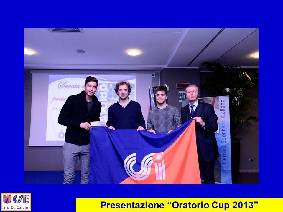 Presentazione Oratorio Cup 2013