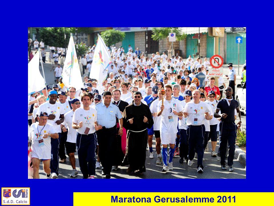 Maratona Gerusalemme 2011